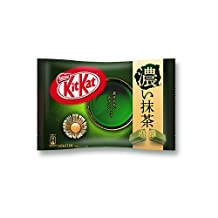 TOKYO MATCHA SELECTION - [Limited season] KitKat Mini Strong Double-Matcha green tea flavor 11 packages - Japan Import [Standard ship by SAL: NO Tracking & Insurance]