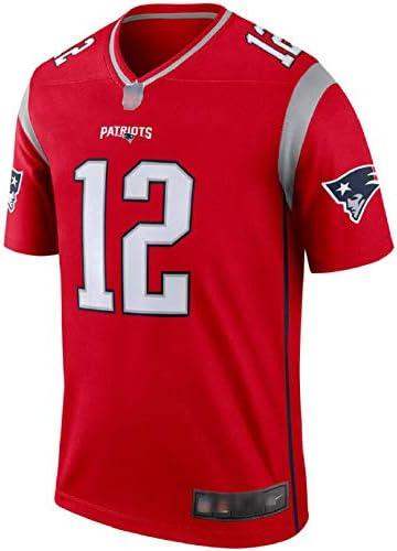 Freechic Hombre New England Patriots #12 Tom Brady Super Bowl ...