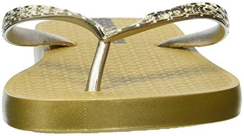 Ipanema Silver Womens Glam Gold Flops Flip wOPqU4w