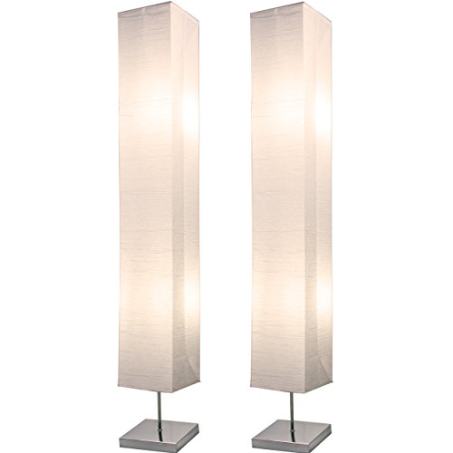 Paper base Japanese style floor lamp