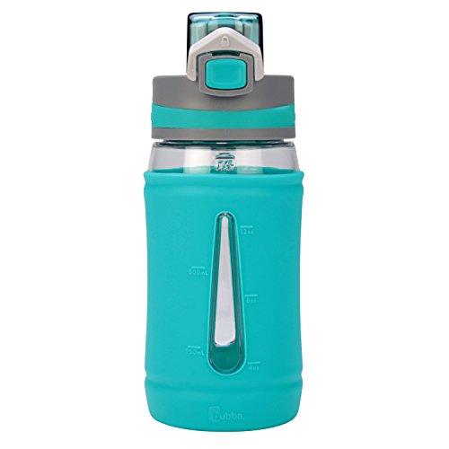 Bubba Brands Flo Silicone Kids Water Bottle, 16 oz., Mint