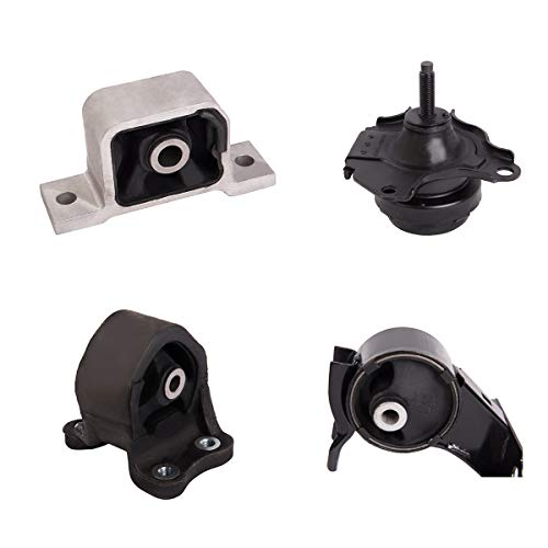 Ashimori Fit Honda CRV CR-V 2.4L 2002-2006 Auto AT Transmission Engine Motor Mount Set ()