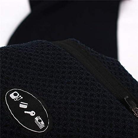 viajes pilates yoga nataci/ón. ☆ Waterrags☆Toalla deportiva de microfibra de alta calidad con compartimento con cremallera para accesorios personales.Ideal para correr