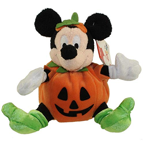 Mickey Mouse Halloween Pumpkin Bean Bag Plush 6