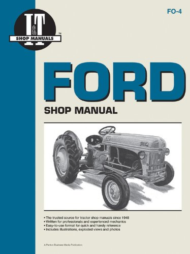 - Ford Shop Manual Series 2N 8N & 9N