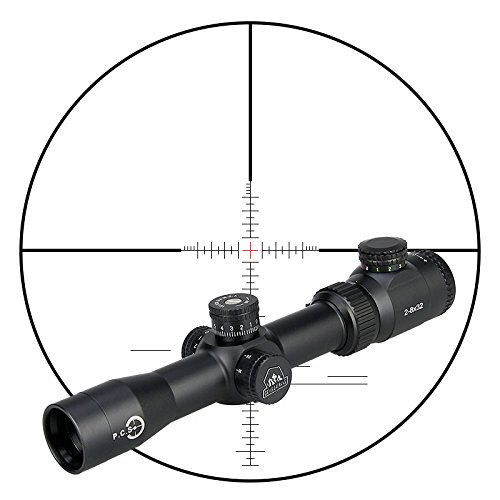 Canis Latran MT2-8x32 Rifle Scope Hunting Tactical Scopes