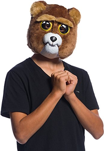Rubie's Feisty Pets Sir- Growls-A-Lot Mask Adult Costume, Sir Growls A Lot, One ()