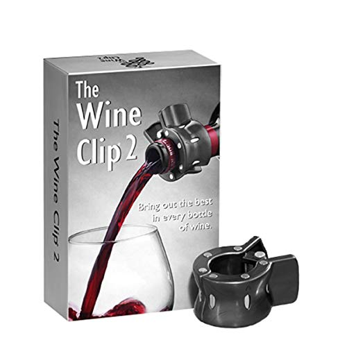 True Fabrications The Wine Clip Magnetic Wine Conditioner