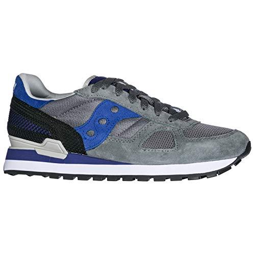 Original Saucony Sneakers Camoscio Uomo Nuove Grigio Shadow Scarpe YZYwv