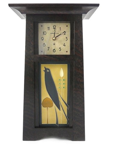 Ebony Tabletop Clock - 8