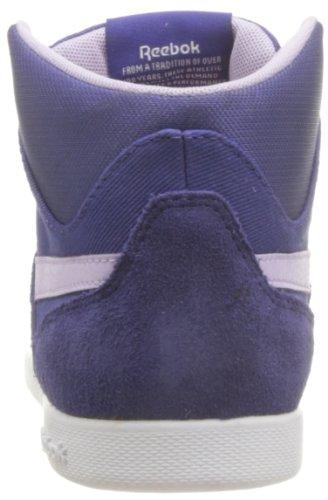 Reebok() Fabulista Mid Ii Txt - Zapatillas de cuero para mujer Mehrfarbig (VIOLET VOLT/PURPLE OASIS/WHITE)