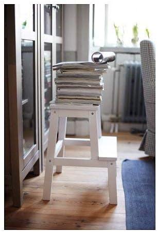 black IKEA BEKV/ÄM Step stool