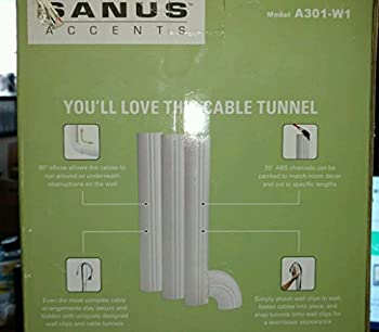 Sanus Systems Cable Tunnel - White (A301-W1)