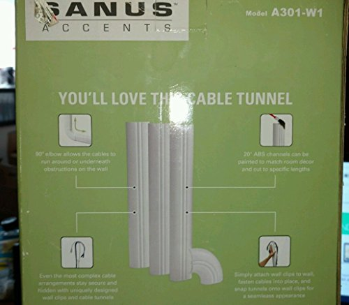 Sanus Systems Cable Tunnel - White (A301-W1) (Wall Systems Sanus)