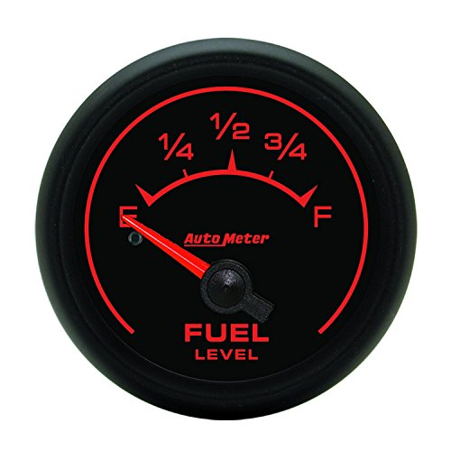 Auto Meter 5913 ES 2-1/16'' 0-90 ohms Short Sweep Electric Fuel Level Gauge for GM by Auto Meter