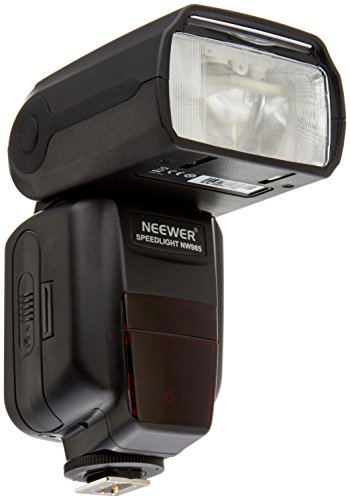 Neewer i-TTL 4-Color TFT Screen DisplayHigh-Speed Sync Camera Slave Flash Speedlite with Flash Diffuser for Nikon D3S D50 D60 D80 D80S D300 D700 D3100 D5000 D7000 and Other Nikon DSLR Cameras by Neewer