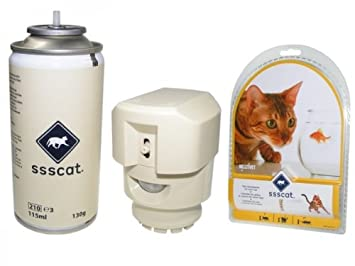 Ahuyentador de Gatos para interiores ssscat/fernhalte Sistema ssscat multivet, el Sus Gatos o
