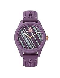 Reebok RDSPRL2PEIEE3 Reloj para Mujer, color Morado/Oro/Rosa, 38 mm