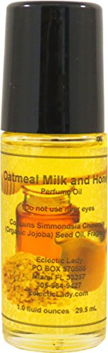 Oatmeal Milk And Honey Perfume Oil, Large by Eclectic Lady