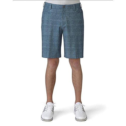 Chino Golf - adidas Golf Men's Ultimate Chino Shorts, Mineral Blue S, 34