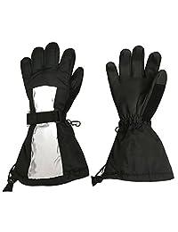 N'Ice Caps Kids 100 Gram Thinsulate Premier Extended Cuff Ski Snowboard Glove