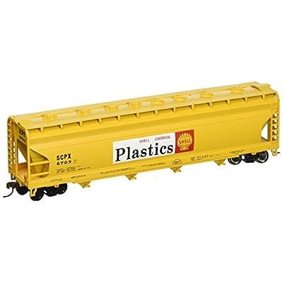 Bachmann Trains - 56' ACF Center Flow Hopper - Shell - HO Scale: Toys & Games