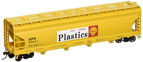 - Bachmann Trains Shell 56' Acf Center-Flow Hopper-Ho Scale