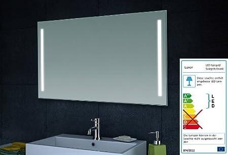 Lux Aqua Design Wand Spiegel Badezimmerspiegel Led Beleuchtung Mit