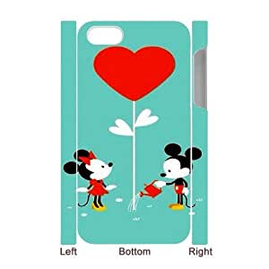 Protection Cover iphone4 4S 3D Cell Phone Case White Pwqcv Lovely Mickey Mouse Cute Personalized Durable Cases