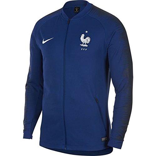 Polo World Cup - NIKE Mens FFF M NK ANTHM FB JKT 893590-455_2XL - Deep Royal Blue/Obsidian/White