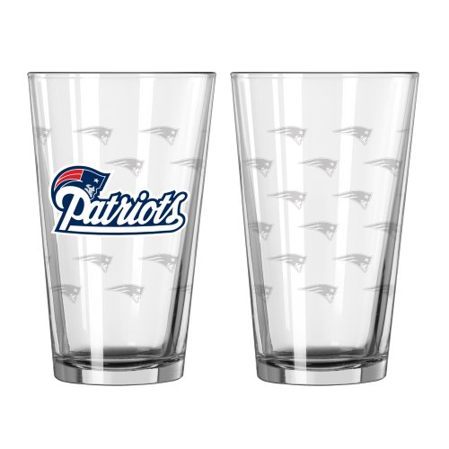 England Patriots Satin 16 ounce 2 Pack product image