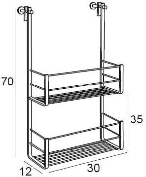 Manillons Torrent Rejilla para MAMPARA - Cromo | Modelo 6229 Accesorio para Cuarto de baño: Amazon.es: Hogar