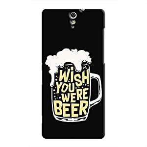 Cover It Up - Wish You Were Beer Xperia C5 Ultra Hard Case