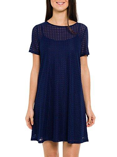 Smash! Damen Kleid, Casual Crispa Blau (Navy 51)