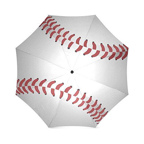 Lovers/Families/Friends Gifts Baseball Design Anti Rain Windproof Travel Golf Sports Foldable Umbrella