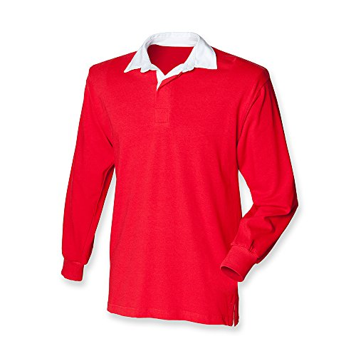 Front Row - Camiseta de rugby Rosso
