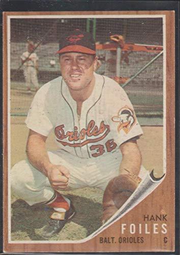 (1962 Topps Hank Foiles Orioles Baseball Card #112)