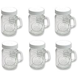Golden Harvest by Ball Mini Mason Jar Salt & Pepper Shaker 4 oz 6 Pack
