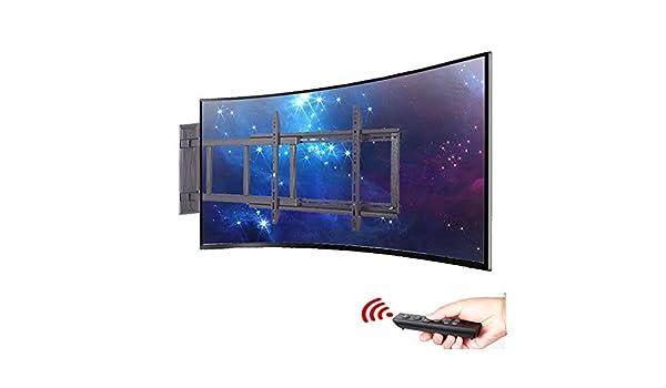 Xue Soporte TV Soporte de Pared, para 32 – 55 Pulgadas LED LCD AL Plasma Flat Panel Ajuste de Altura de Control A Distancia Compruebe La TV Agujeros de Montaje VESA Antes