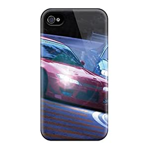 LZt19735jAQG Phone Cases With Fashionable Look For Iphone 4/4s - Drifting