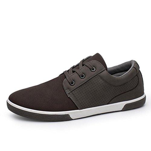 Hombre de BYSTE Zapatos Cordones marrón Para wx1q4fYqI