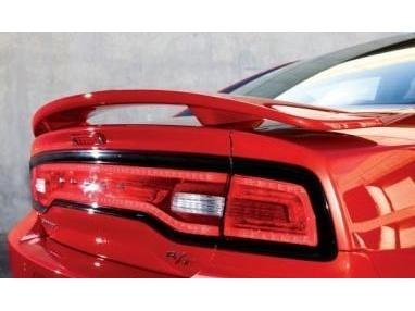 JSP Painted Rear Wing Spoiler Compatible with 2011-2016 Dodge Charger X8 - DX8 Black Crystal Factory Style 333045