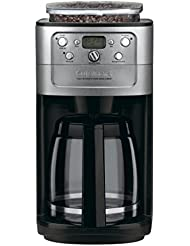 Conair Cuisinart Grind & Brew DGB-700BC 12 Cup Coffeemaker (Black/Brushed Chrome)