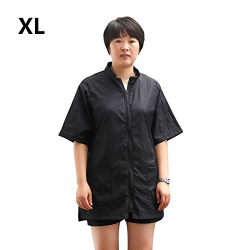 myonly Dog Pet Grooming Smock Beautician Work Clothes Nylon Barber Apron Anti-Static Cat Cooking Kitchen Aprons Smock Pockets for Women Men (XL)