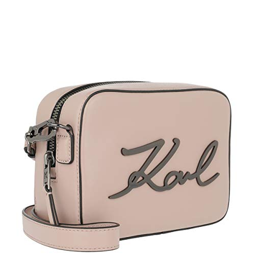 K signature Rosa Camerabag Donna Unica Cuoio Taglia Lagerfeld BalletCross Bag Karl Body wnOk0P8