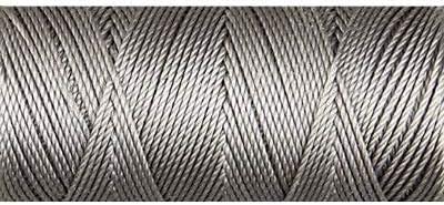 Charcoal C-Lon 0.4mm Bonded Nylon Fine Bead Cord