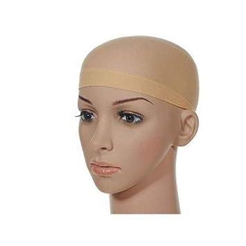 Gorro de peluca de nailon invisible, 12 unidades, color ...