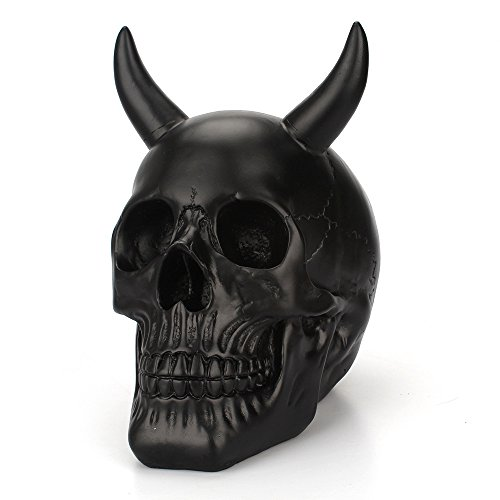 - Iulove New European Creative Resin Horns Black Enamel Home Decoration Ornaments
