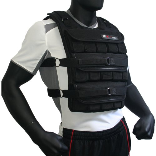 MIR - 75LBS PRO (LONG STYLE) ADJUSTABLE WEIGHTED VEST by miR