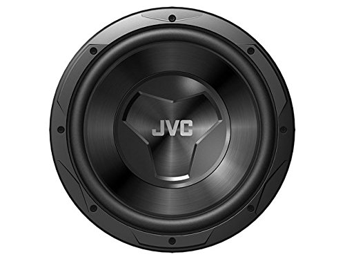 JVC CS-W120 1000W 12-Inch W Series Single 4 ohm Car Subwoofer-Set of 1